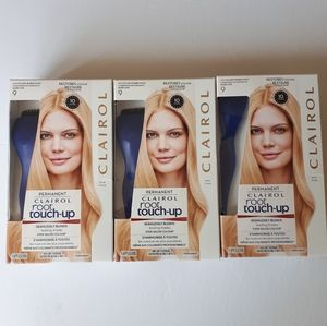 3 Clairol Nice'n Easy Root Touch-Up 9 LIGHT BLONDE